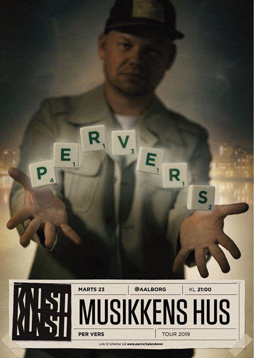 Per Vers i Aalborg - Knust Kunst Tour