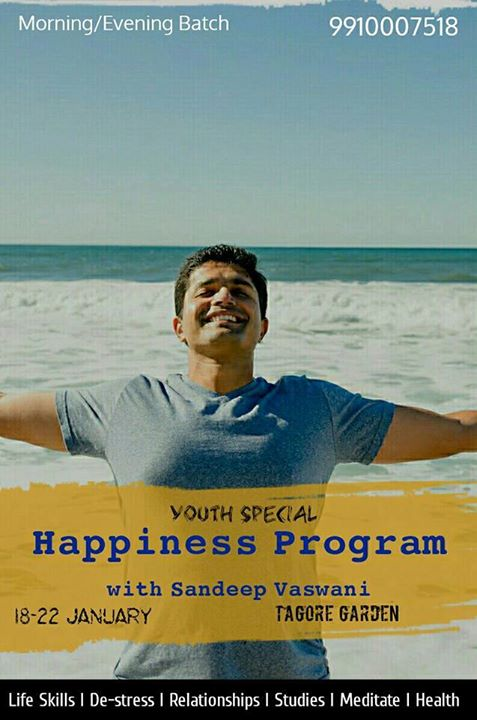 New Year Special Happiness Program with Sandeep Vaswani