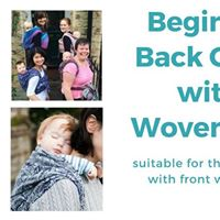 Beginning to Back Carry with a Woven workshop Tues 26th Sept