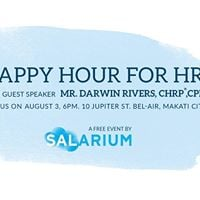 Happy Hour for HR with Mr. Darwin Rivers