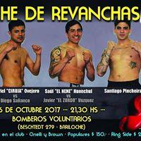 Noche de Revanchas Boxing Club Bariloche