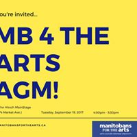 Youre invited  Manitobans for the Arts AGM