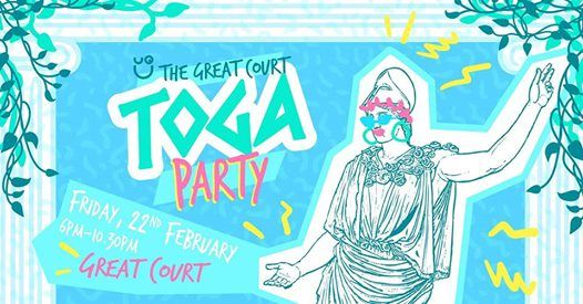 The Great Court Toga Party