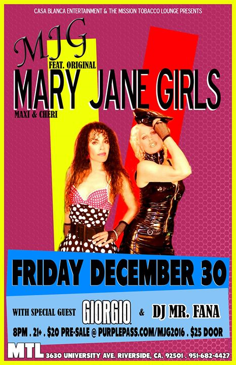 MJG Feat Original Mary Jane Girls Maxi & Cheri