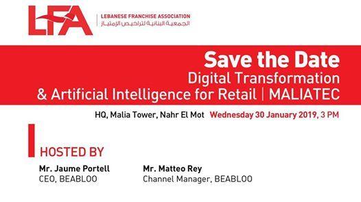 Digital Transformation & Artificial intelligence for Retail  MA