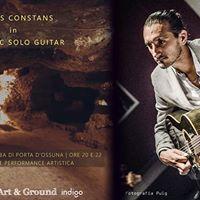 Art and ground. Il jazz di Yannis Constans live in catacomba