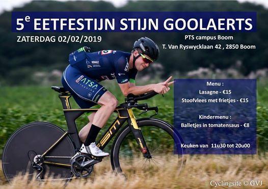 5e Eetfestijn Stijn Goolaerts