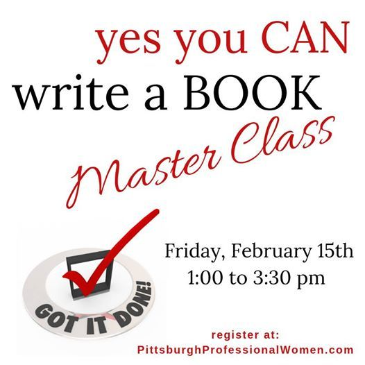 Yes You CAN Write a Book Master Class