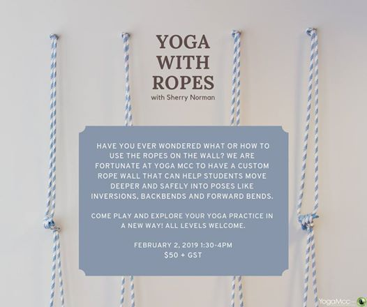 Yoga with Ropes