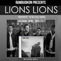 Tonight - Lions Lions CD Release Show Ft. ActorObserver TLTH &amp M
