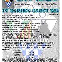 IV Torneo CARPI 12h Femenino