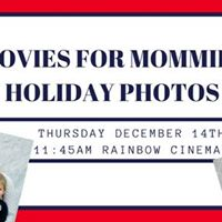 Holiday &amp Santa Photos and My Little Pony at Movies for Mommies