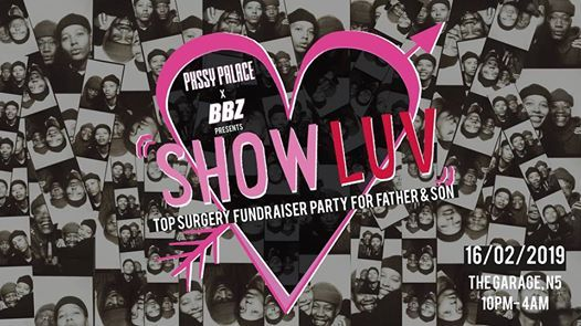 Pxssy Palace X BBZ Presents Show Luv