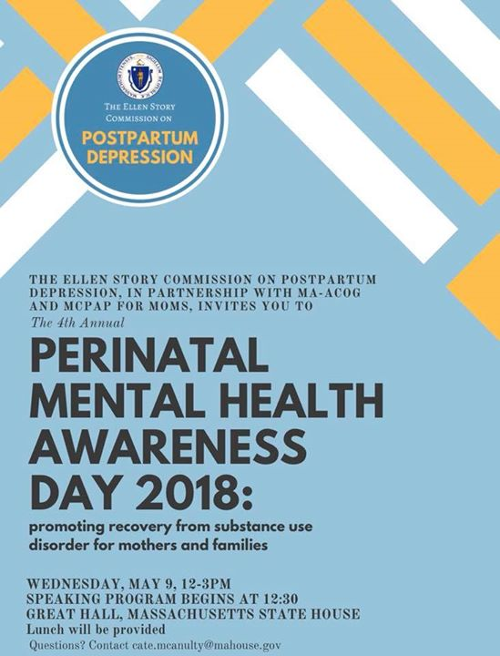 Perinatal Mental Health Awareness Day 2018 At Massachusetts State