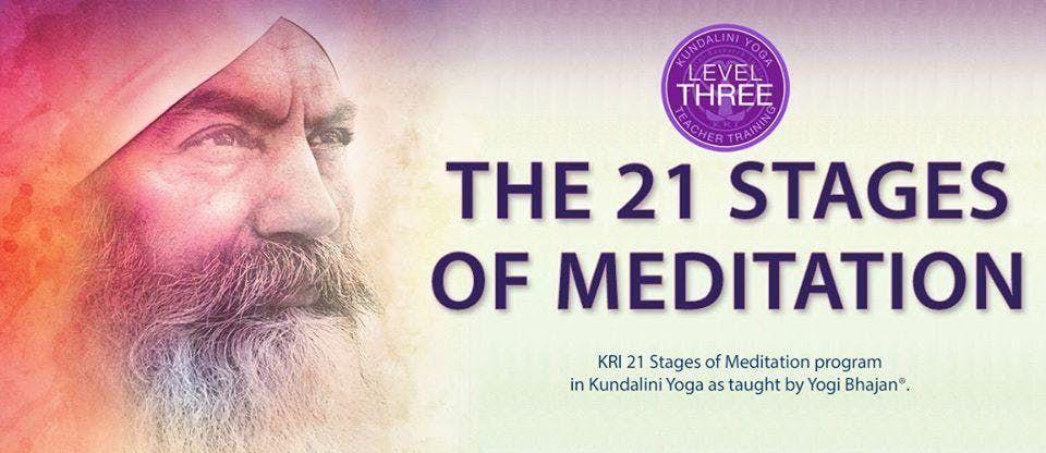 KRI Kundalini Yoga Nivel 3- Las 21 Etapas de la Meditacin