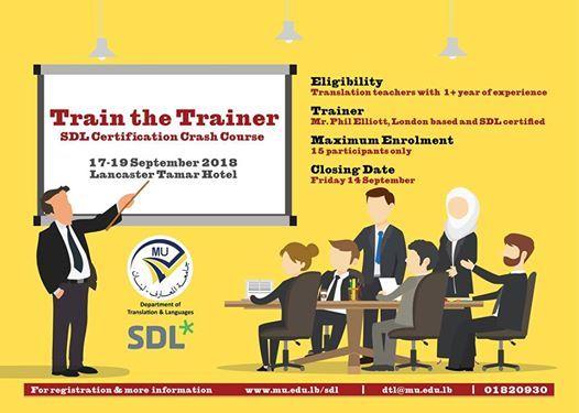 SDL Certification Crash Course