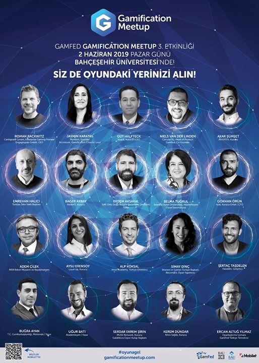 Gamification MeetUp - Gamfed Trkiye 3.Oyunlatrma Konferans