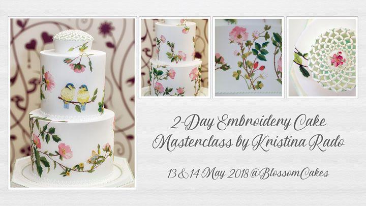 2-Day Embroidery Cake Masterclass by Kristina Rado