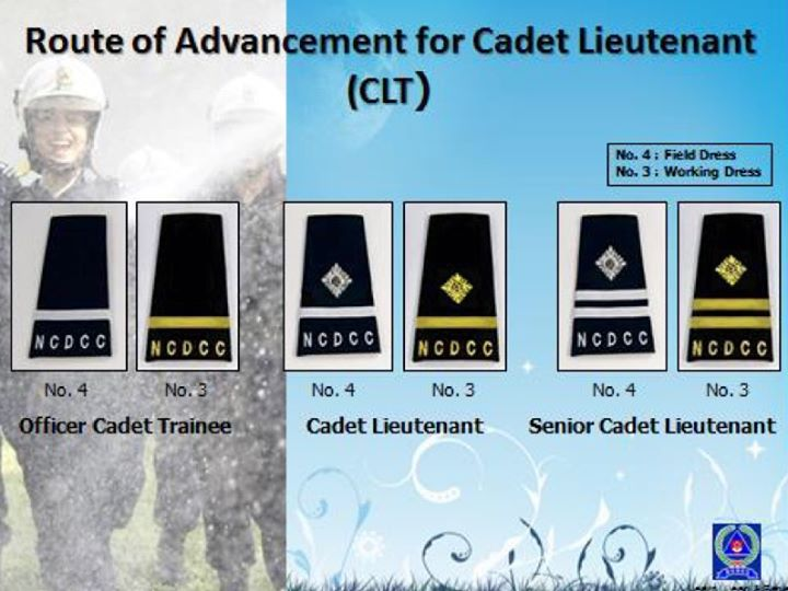 13th NCDCC Cadet Lieutenant (CLT) Course [for selected Year 4s]