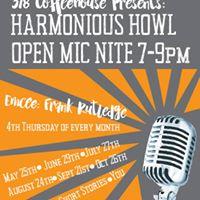 Open Mic Nite July Harmonious Howl