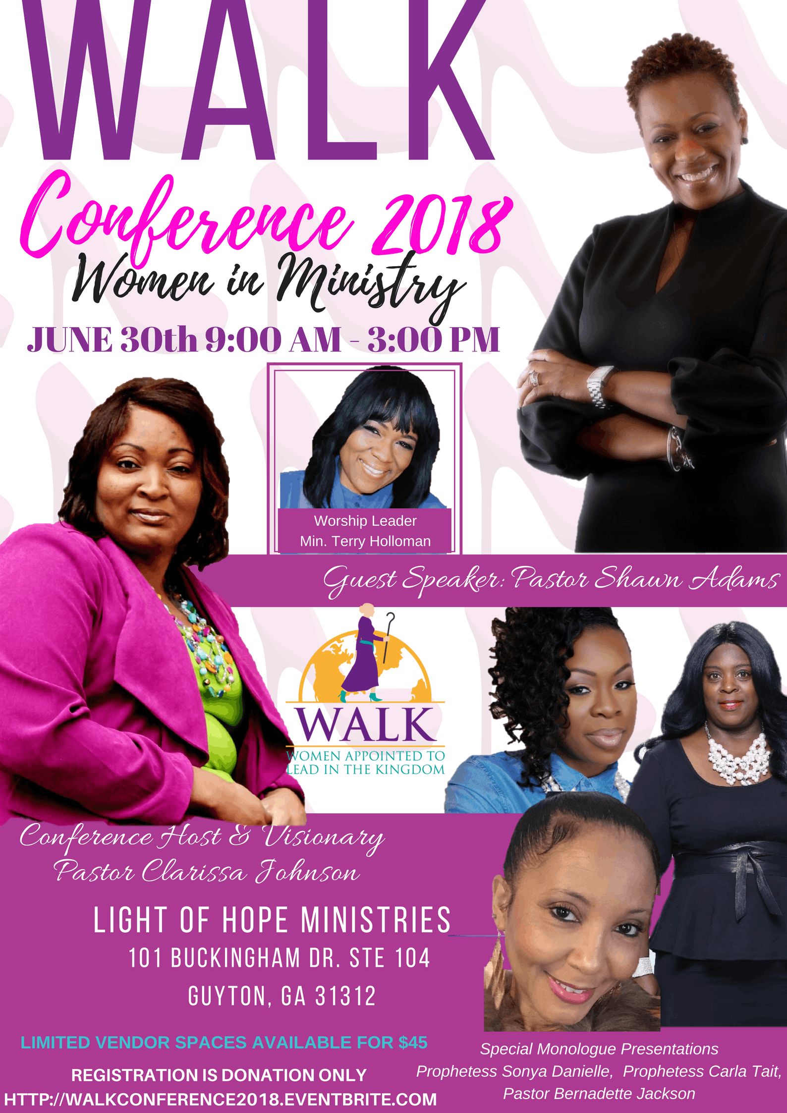 Walk Women In Ministry Conference At Light Of Hope