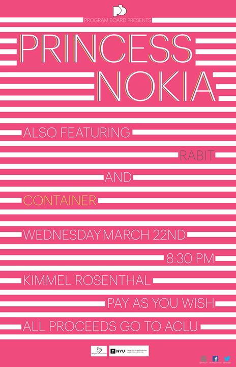 Princess Nokia Rabit  Container at NYU