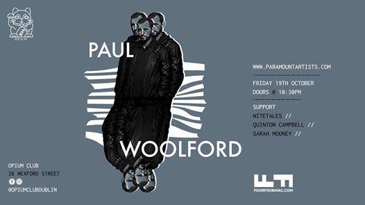 Paul Woolford at Opium