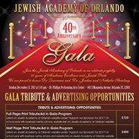 40th Anniversary Gala presented by JAO