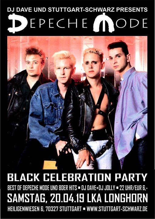 Black Celebration - Die Depeche Mode Party
