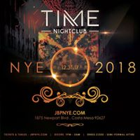 Time Nightclub NYE New Years Party Event Tickets