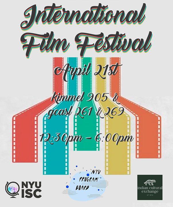 NYU PB x ISC x ICE Present International Film Festival