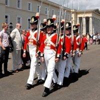 Rubys at Royal Military Academy Sandhurst Heritage Day