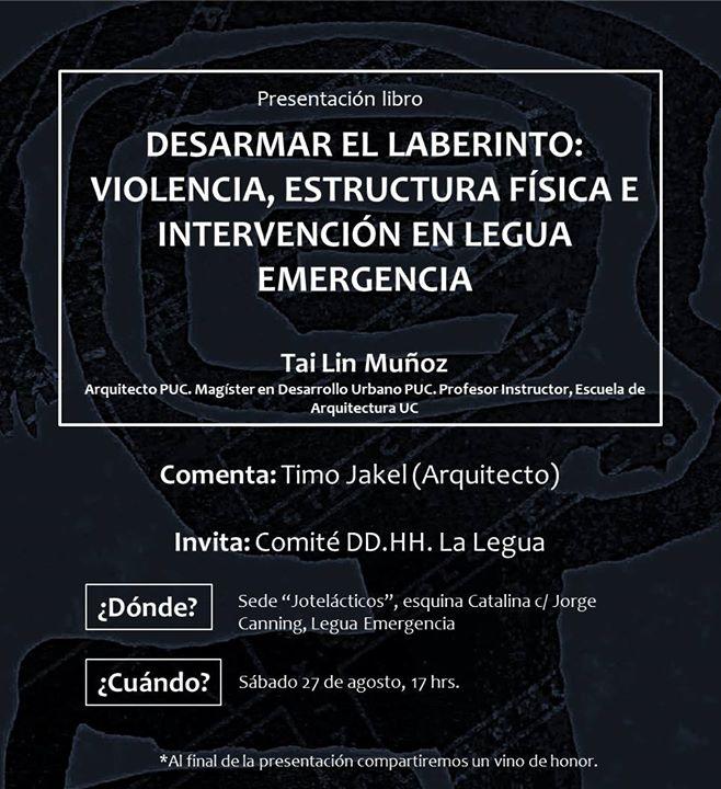 Presentación Libro Desarmar El Laberinto Violencia