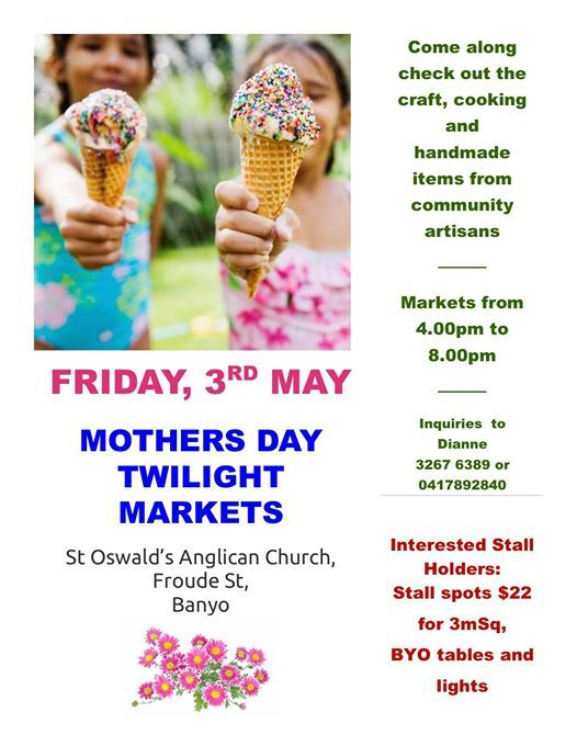 Mothers Day Twilight Markets
