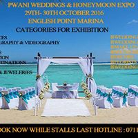 Pwani Luxurious Weddings &amp Honeymoon Expo