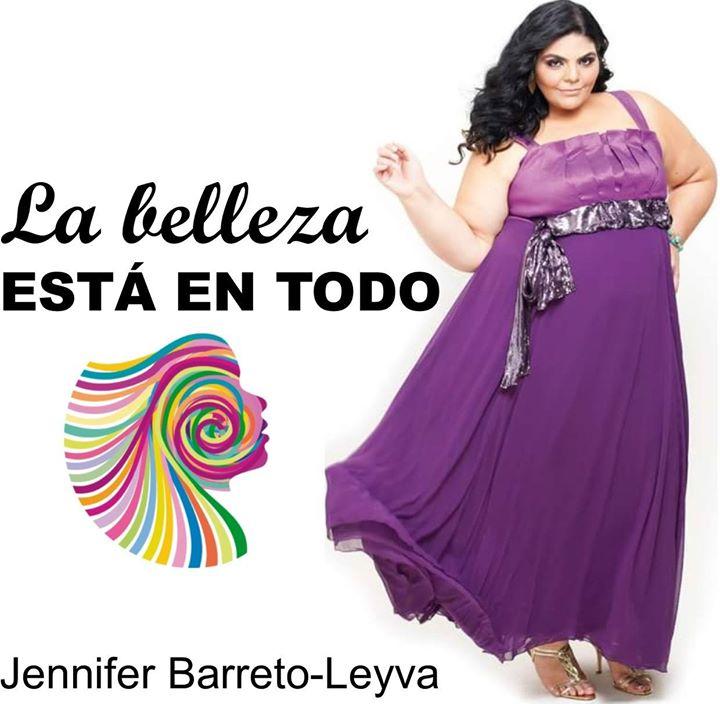 Da de la Mujer con la modelo Jennifer Barreto-Leyva