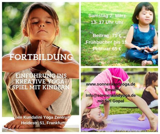 Fortbildung Einfhrung ins kreative Yoga-Spiel mit Kindern
