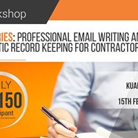CIPAA  Professional Email Writing and Systematic Record Keeping