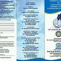 Seminar on Nanopharmaceuticals