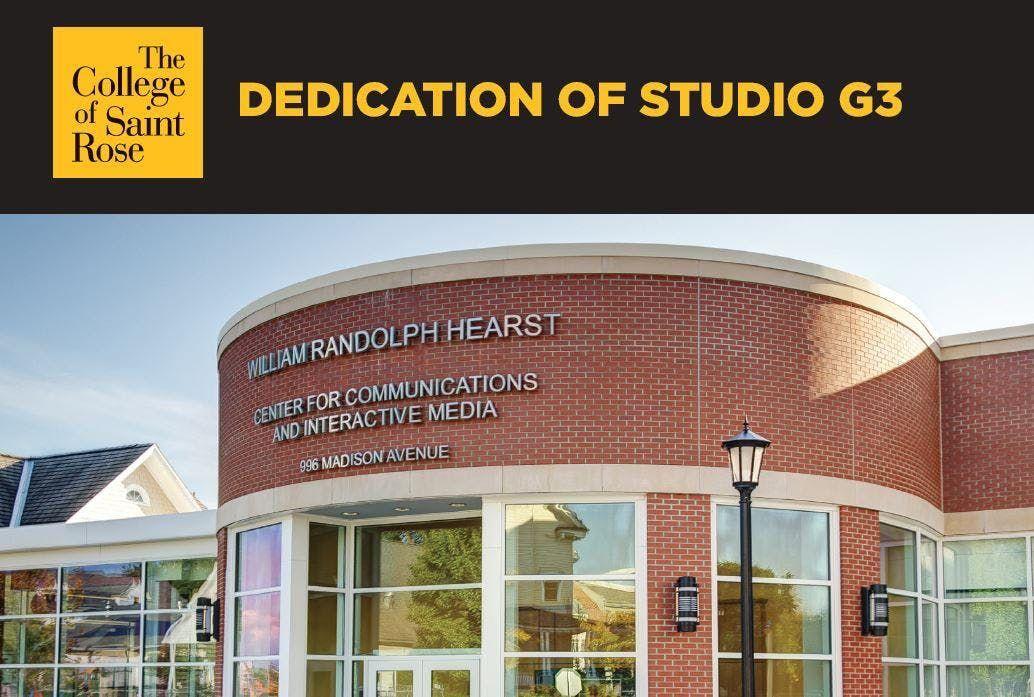 Dedication of Studio G3