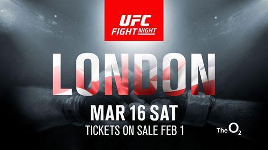 UFC at The O2 arena