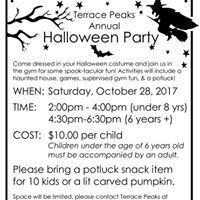 Halloween Party (Under 8 years)