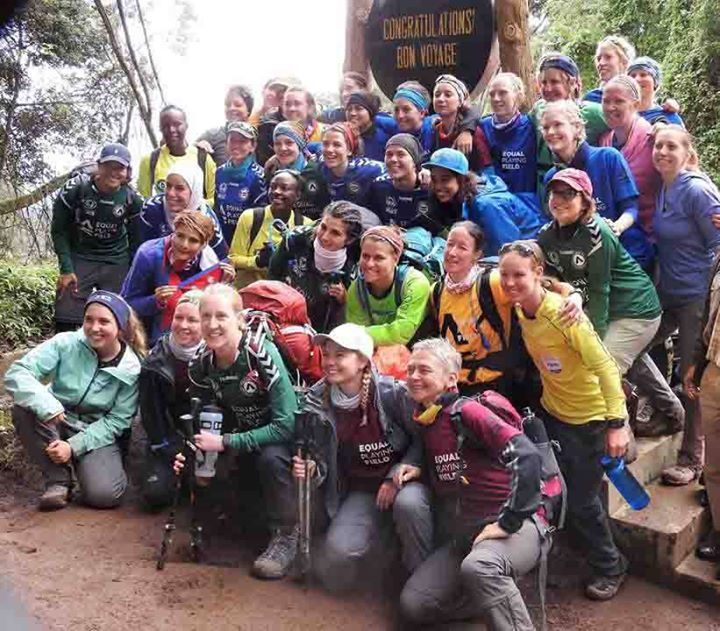 Climb Kilimanjaro International Womens Day 2019