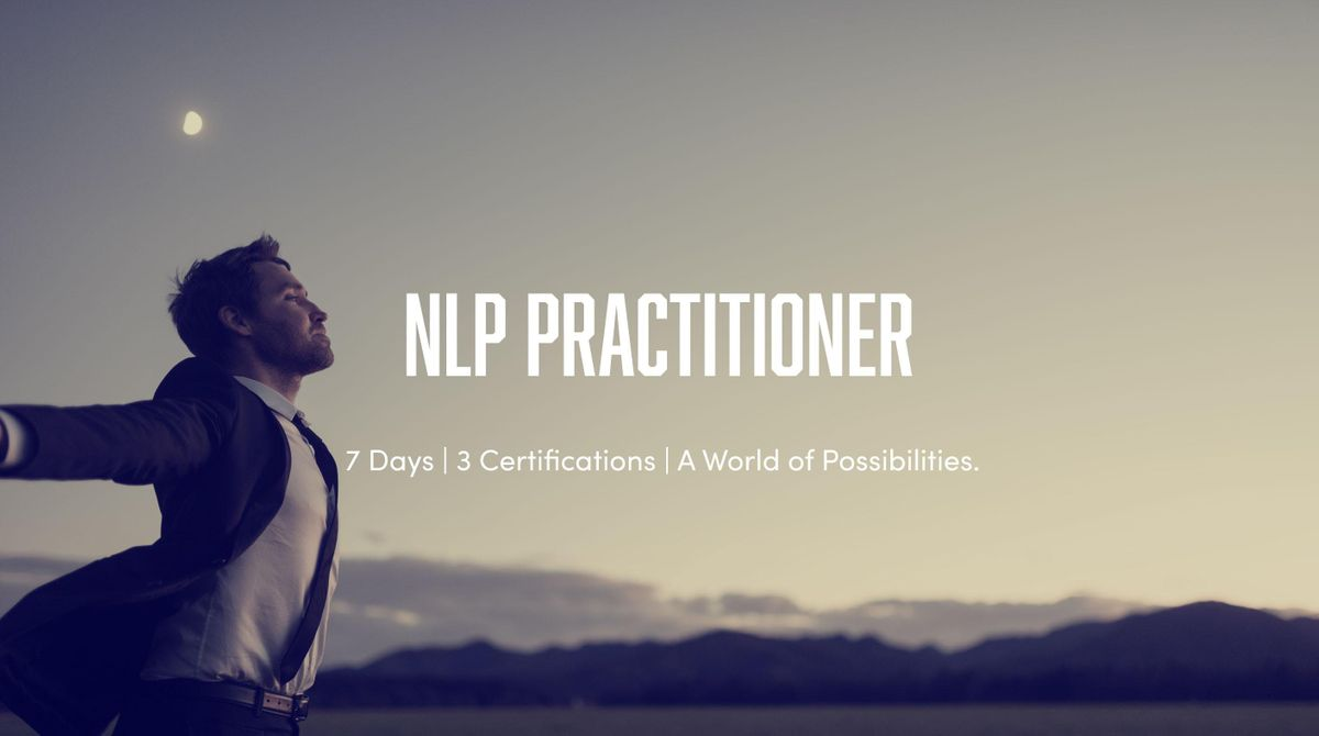 7 Day NLP  Time Line Therapy  & Hypnosis Practitioner Training
