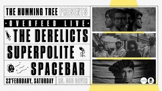 Overfeed Live at The Humming Tree  THT Music