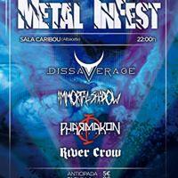 Metal InfestDissaverage Immortal Shadow Phrmakon River Crow
