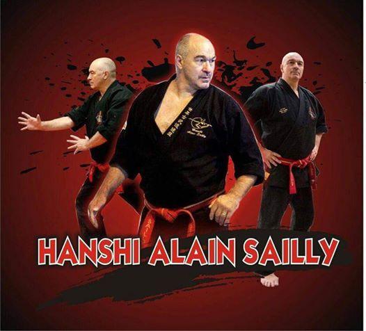 Hanshi Alain Sailly Seminar