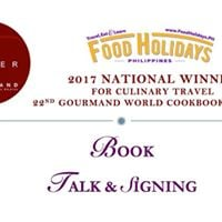 Food Holidays Philippines - Book Talk and Signing