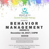 Behavior Management Seminar