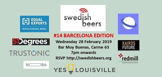 Swedish Beers - 14 Barcelona Edition 2019